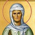 Фрагмент иконы Св. Валентины Минской