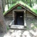 Партизанский лагерь в СТАНЬКОВО