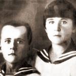 Марат и Ариадна Казей, ок. 1935 г. (ранее 1 января 1939 года). Фото: Public Domain