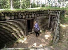 Восстановленные блиндажи Минского оборонительного района