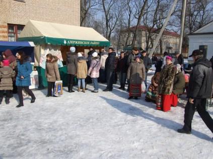 Празднование масленницы в Станьково 22.02.2015 (6)
