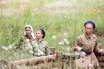Первые кадры художественного фильма о подвиге коренных северян на войне и в тылу сняты! Съемки успешно прошли в поселке Станьково на территории бывшего 63-го Минского укрепрайона.