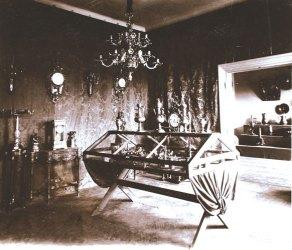 Зал металлических артефактов, 1904 г.
