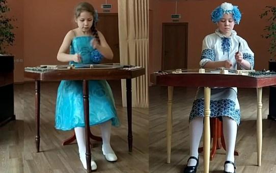 Станьковские цимбалистки покоряют интернет-конкурс. Поддержим девочек!