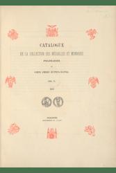 Catalogue De la collection des médailles et monnaies Polonaises Du Comte Emeric Hutten-Czapski vol.5