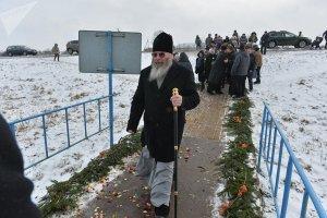 На торжественный молебен прибыл епископ Молодечненский и Столбцовский Павел