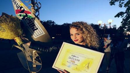 Злата Ларченко заняла первое место в песенном конкурсе Национального фестиваля «Молодечно»