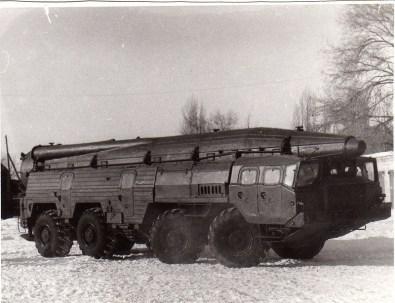 """Ракетный комплекс """"Темп-С"""", пусковая установка 9П120. Изучался в училище, так как выпускники направлялись в ракетные бригады и отдельные рдн РВ и А Сух. войск. Все ПУ «Темп-С» – 135 единиц и транспортные машины – 62 единицы, в последствии, ликвидированы (демонтированы) в Станьково на базе 189 рбр. БОЕВЫХ ОФИЦЕРОВ ЗАСТАВИЛИ, СВОИМИ РУКАМИ, СДЕЛАТЬ ЭТО,"""