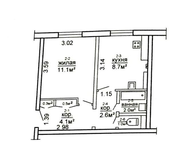 Продаётся 1комн квартира в Станьково 18000$