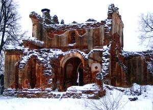 Так выглядел храм до восстановительных работ