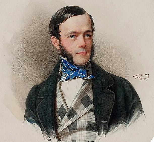 Эмерик Захарьяш Николай Северин фон Гуттен-Чапский, 1849 г. Владимир Иванович Гау