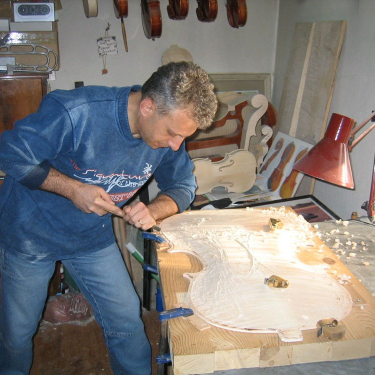 Making a cello