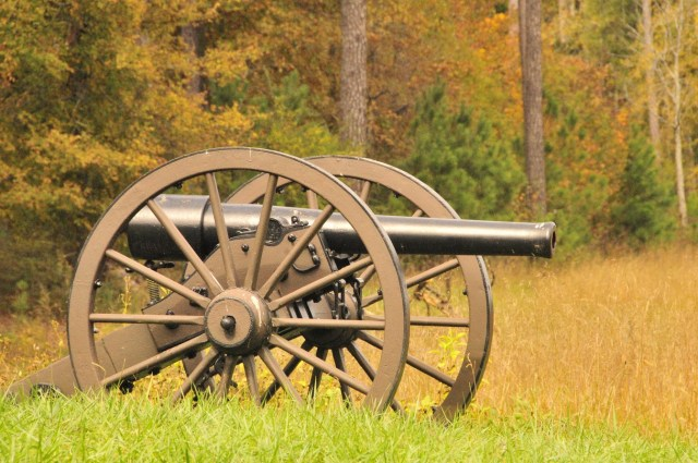 Cannon at Chickamauga Battlefield