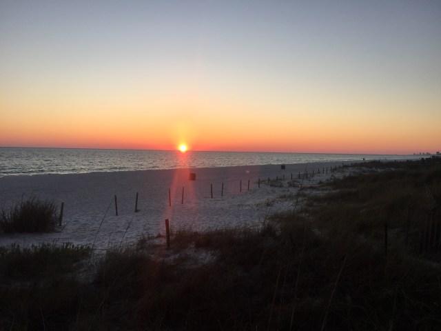 Sunset at Schooners