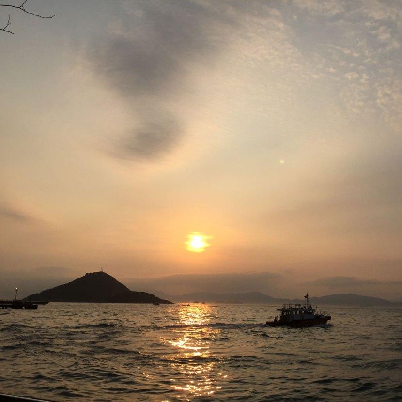 Victoria Harbor Sunset