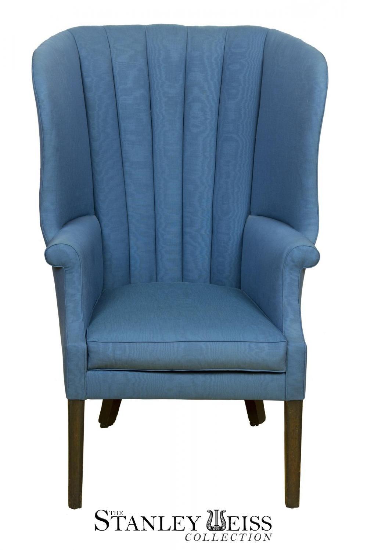 A Mahogany Hepplewhite Barrel Back Wing Chair Philadelphia C 1780 Stanleyweiss Com