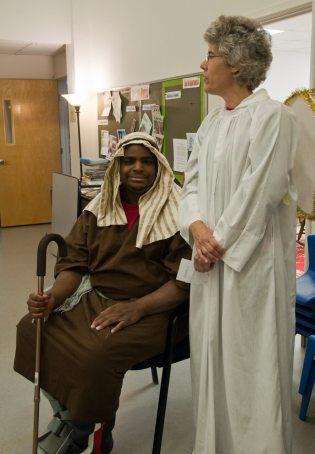 2010 Christmas Pageant: John and Faith
