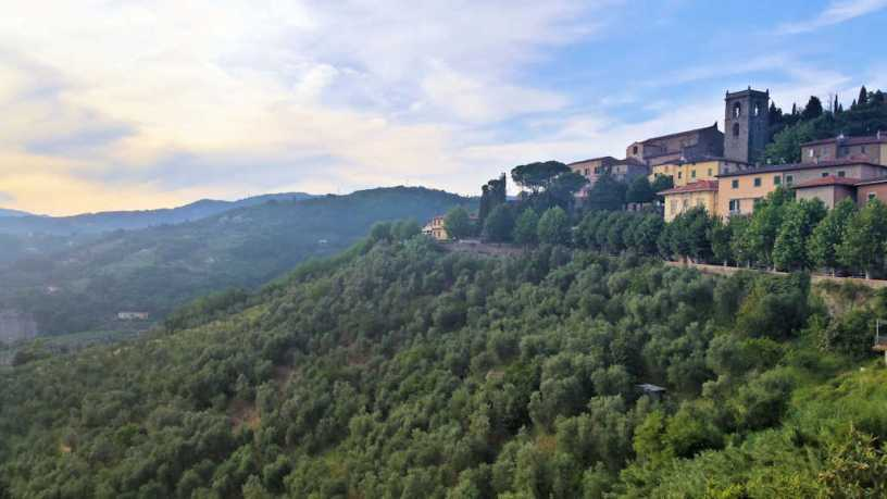 hoir on tour in Tuscany at the lovely Montecatini Alto village