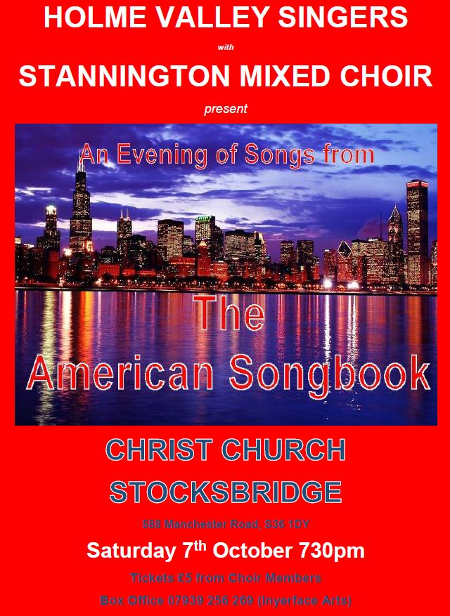 The American Songbook Stocksbridge poster