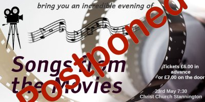 Concert Postponed
