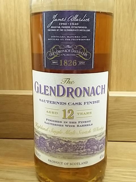 GlenDronach 12 Year Old Sauternes Finish