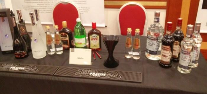 Whisky & Firends - Stanowisko Pravda Vodka