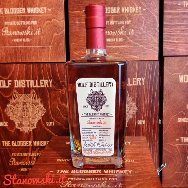 The Blogger Wolf Whiskey