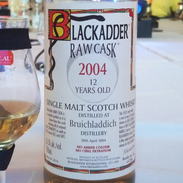 Blackadder Raw Cask Bruichladdich 12 year old 2004