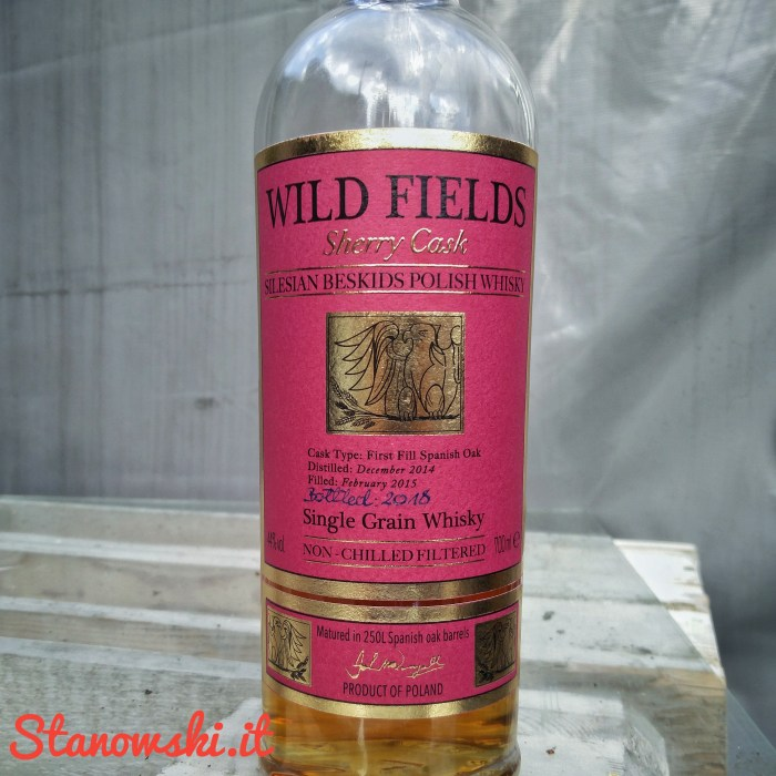 Wild Fields Sherry Cask Single Grain Polish Whisky