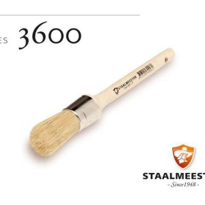 Staalmeester Round Wax Brushes (Series 3600)