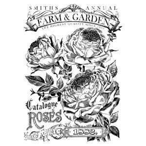 Catalogue of Roses Paintable  (24″x33″)