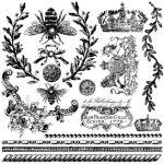 Queen Bee Stamp