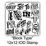 Block Style Stamp