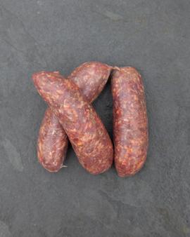 venison sausages