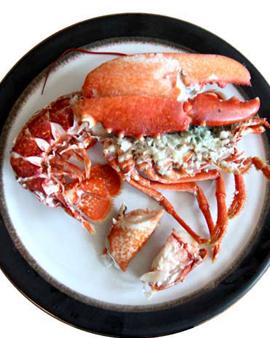 Hayling Island Lobster & Cornish Sardines