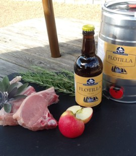 Flotilla Beer from Emsworth Brewhouse