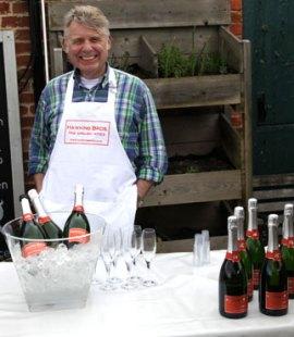 Hawkins Bros sparkling wine