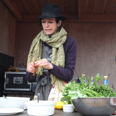 Thomasina Miers Cookery Demonstration