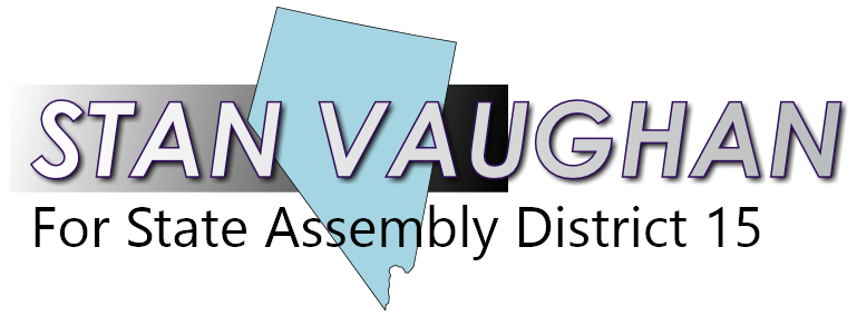 Stan Vaughan for Nevada State Assembly District 15