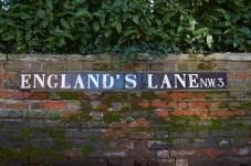 England's Lane N.W.3. (tiled)