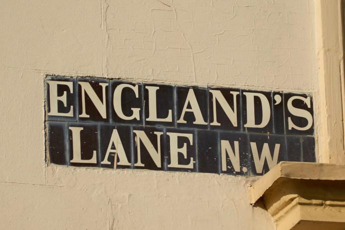 England's Lane N.W. (tiled)