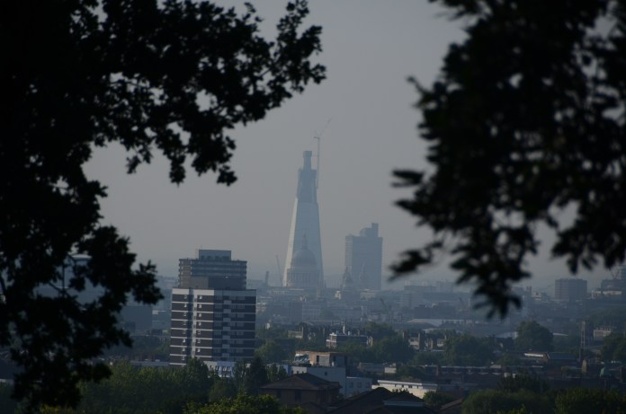St. Paul's & Shard from Parliament Hill1