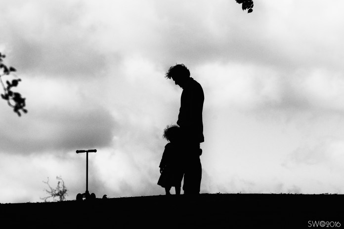 Man & Child, Hampstead Heath