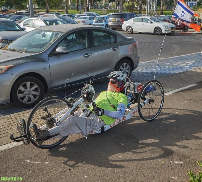 Disabled biker