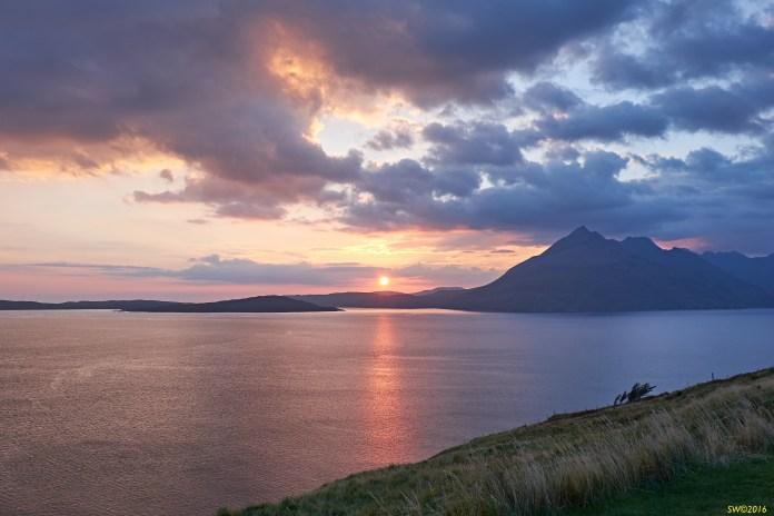Elgol sunset