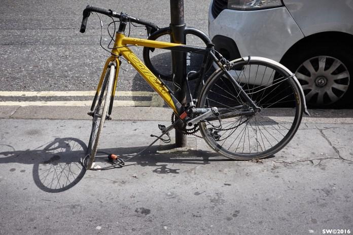 Taking no chances (bike)