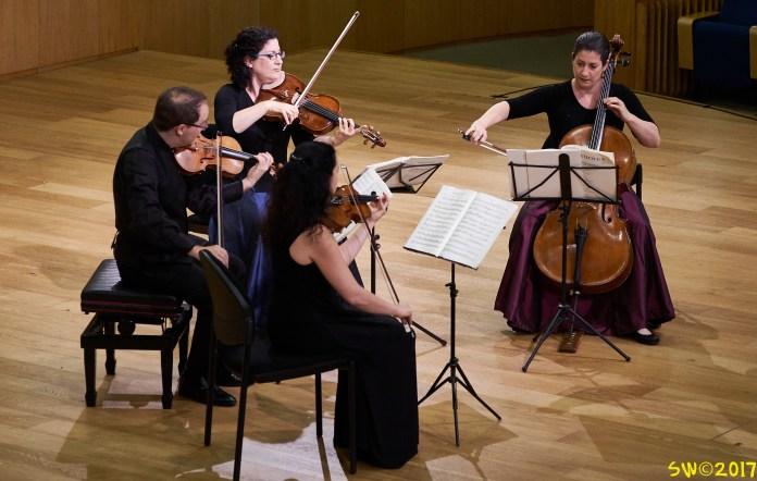 Carmel Quartet at Stricker Conservatory