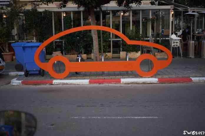 1 car = 10 bikes