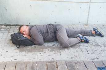 Homeless on the bridge 3