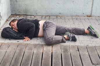 Homeless on the bridge 4
